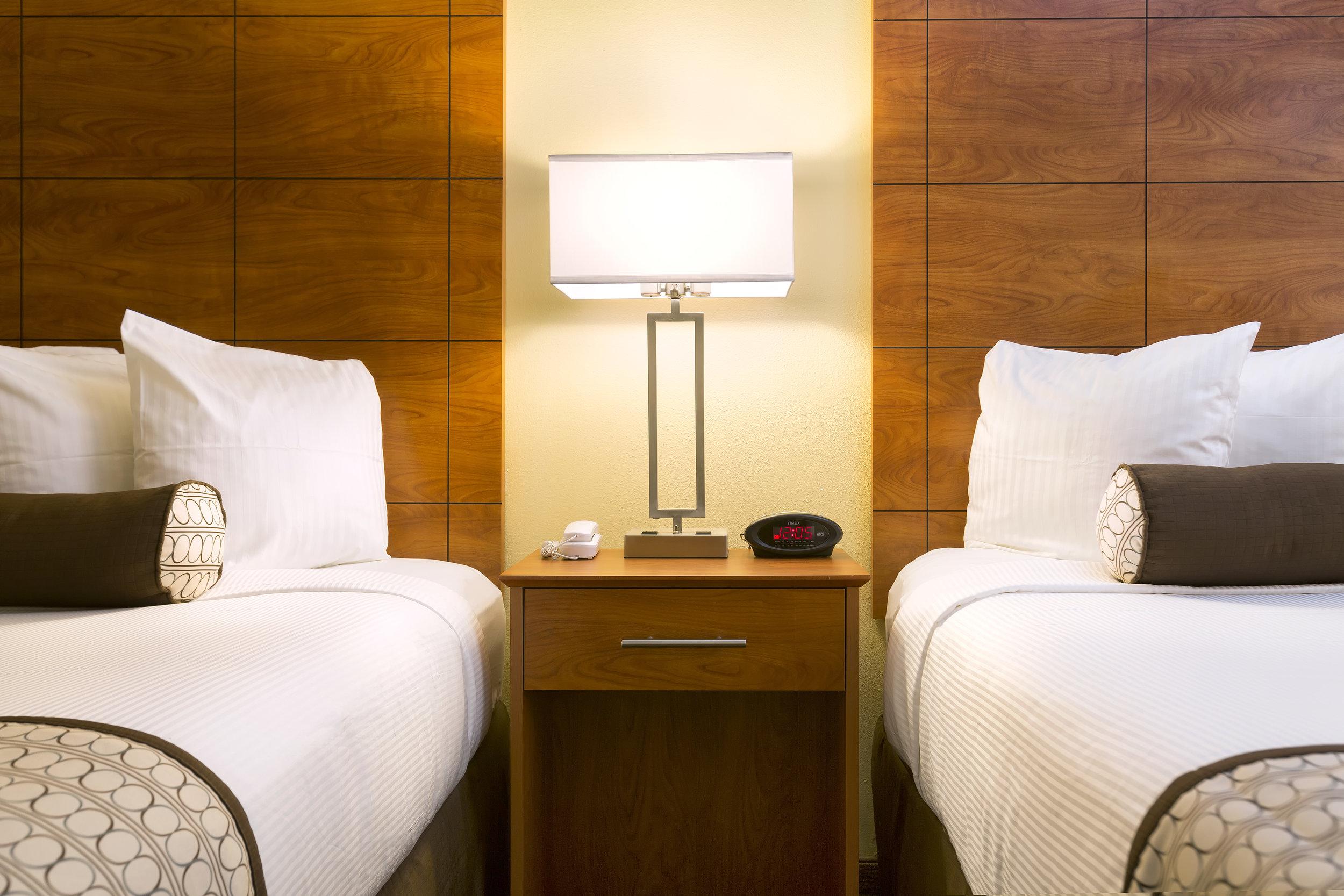 Best Western Orlando Gateway Hotel Beds Close Up