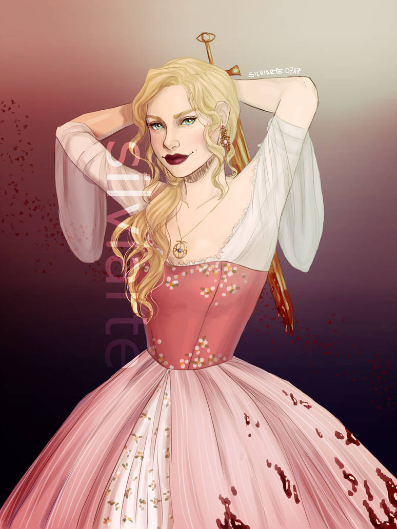 """""""Throne of Glass Fanart #1"""" by silviarts"""