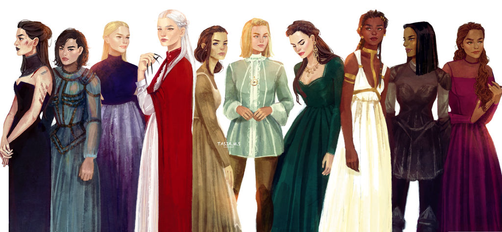 """""""Women from Throne of Glass"""" by tasiams"""