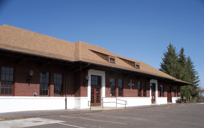 The Depot Today, East facade