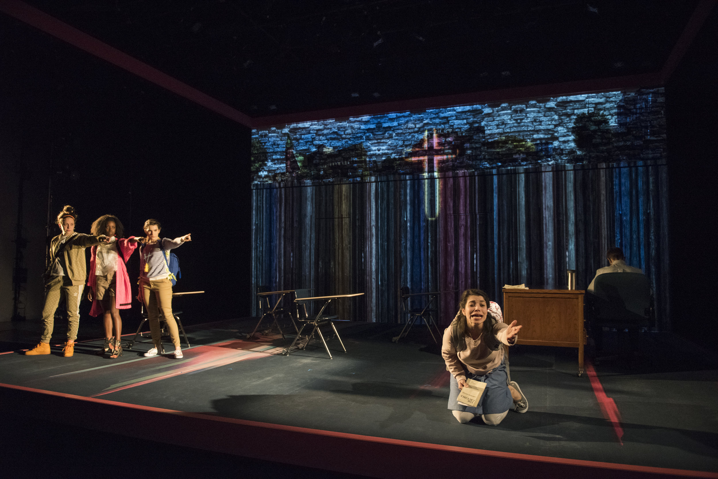 The Burn, Steppenwolf for Young Adults (photo by Michael Brosilow)