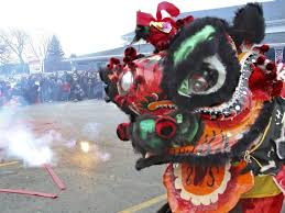 ShaoLin Lion Dancers will usher in the New Year from 7:15-7:45.
