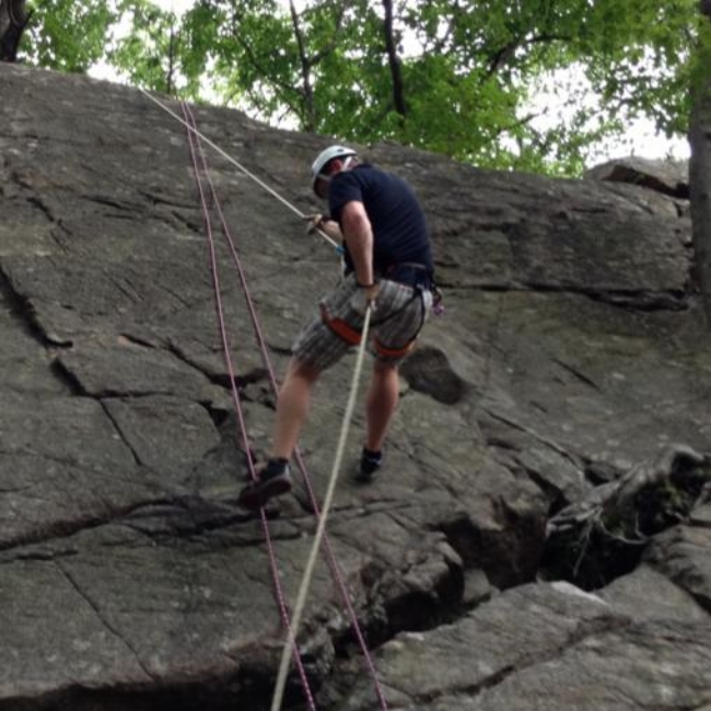 Rock Climbing and Rappelling Instructor