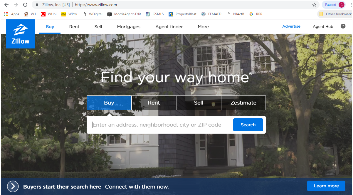 Copy of Zillow