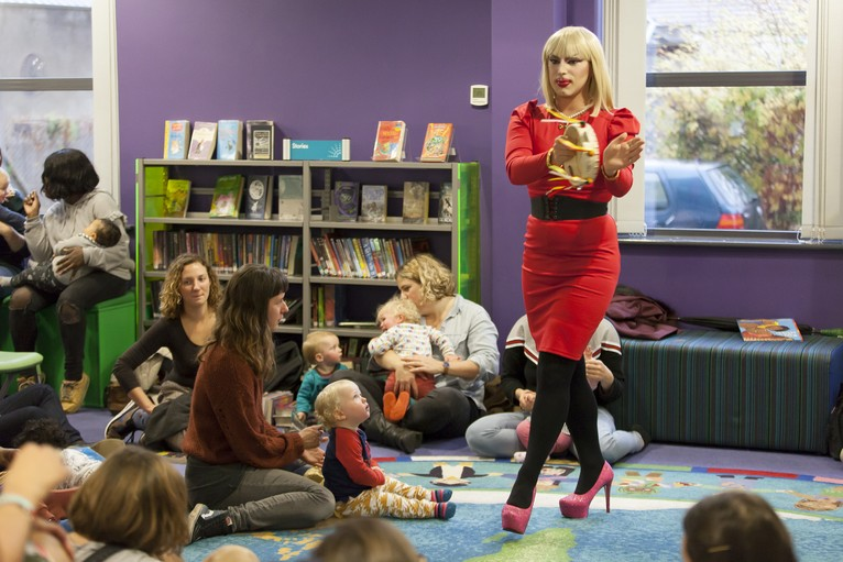 Book A Show - Looking to bring Drag Queen Story Time to your school, library or nursery group?Get in touch to arrange a session now.