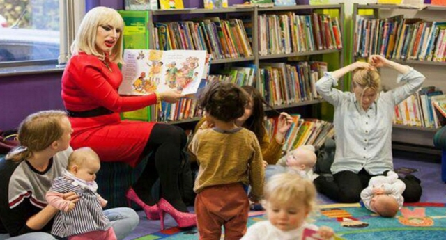 This is why drag queens are reading stories to children across the country - When you think about drag queens, you would probably imagine them in a club or on a certain TV show.But one group of queens are getting together for a rather different cause: teaching children…