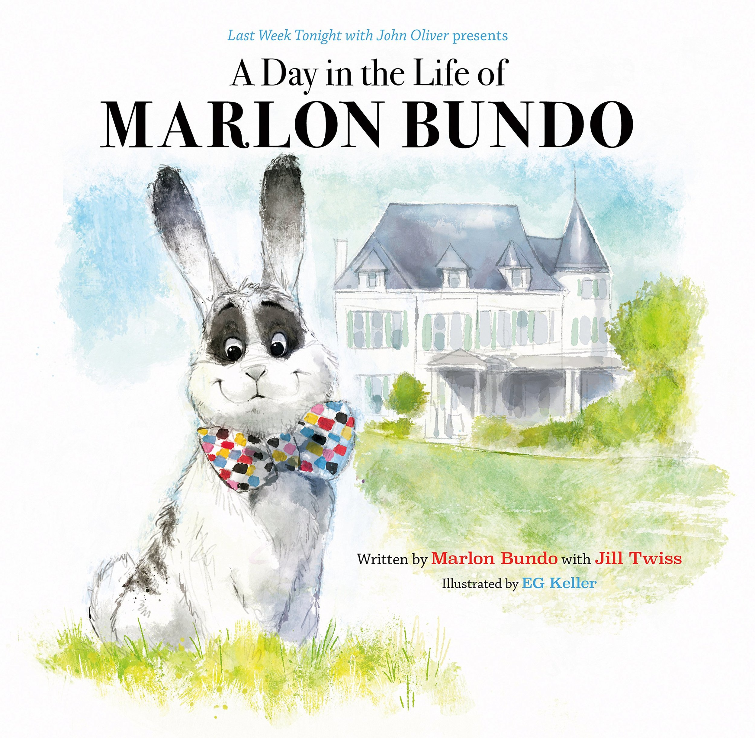 a day in the life of marlon bundoby jill twiss - John Oliver presents a children's picture book about a Very Special boy bunny who falls in love with another boy bunny.With its message of tolerance and advocacy, this charming children's book explores issues of same sex marriage and democracy. Sweet, funny, and beautifully illustrated, this book is dedicated to every bunny who has ever felt different.