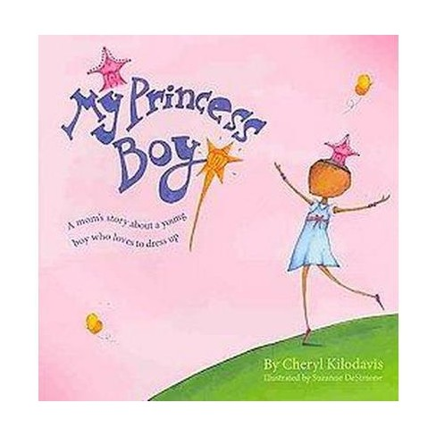 my princess boyby cheryl kilodavis - Dyson loves the colour pink and sparkly things. Sometimes he wears dresses and sometimes he wears jeans. He likes to wear his princess tiara, even when climbing trees. He's a Princess Boy, and his family loves him exactly the way he is. This is a story about love and acceptance. It is also a call for tolerance and an end to bullying and judgments. Inspired by the author's son, and by her own initial struggles to understand, this is a heart-warming book about unconditional love and one remarkable family.