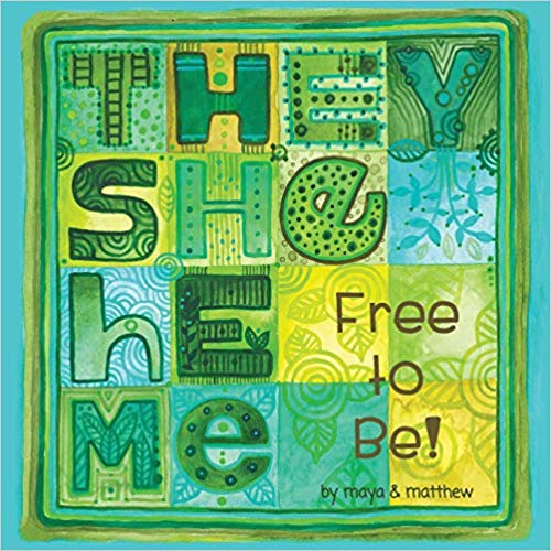 """They She He Me: Free to Be!by Maya Christina Gonzalez & Matthew SG - Pronouns serve as a familiar starting point for kids and grown-ups to expand ideas about gender and celebrate personal expression with fun imagery that provides a place to meet and play.They She He Me, Free to Be shows many gender presentations under each pronoun and invites even more. A go-to place to help keep the conversations alive, break down assumptions of who is """"she"""" or """"he"""" and expand beyond the binary to include """"they"""" and more."""