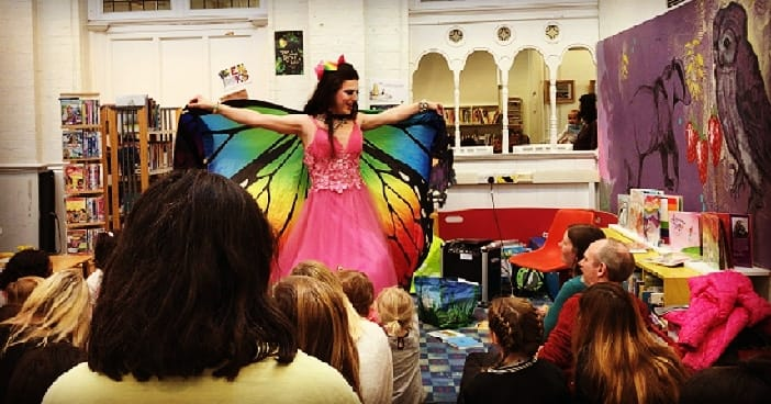 """Drag Queen Story TimeHuffpost - Drag queen Topsie Redfern is a queer role model for children, reminding them, """"We are all different, aren't we?"""""""
