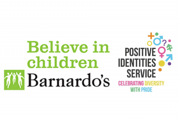 - Barnardo's Positive Identities Service works to raise awareness around sexual identities and gender identities, and prevent discrimination and prejudice. We support children and young people who identify as Lesbian, Gay, Bisexual, Trans and Questioning (LGBTQ) and work to tackle Homophobic, Biphobic and Transphobic (HBT) discrimination and bullying, striving for a more equal society in which everyone feels able to be proud of and celebrate who they are.