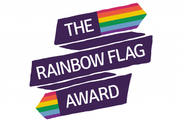 - The Rainbow Flag Award is a national quality assurance framework for all schools and colleges, focusing on LGBT+ inclusion and visibility. The award encourages a whole organisation approach to LGBT+ inclusion, as well as developing strategies to combat LGBTphobic bullying. Through self-assessment and ongoing monitoring and feedback, schools and colleges are offered a variety of interventions, helping them meet set standards in six key areas