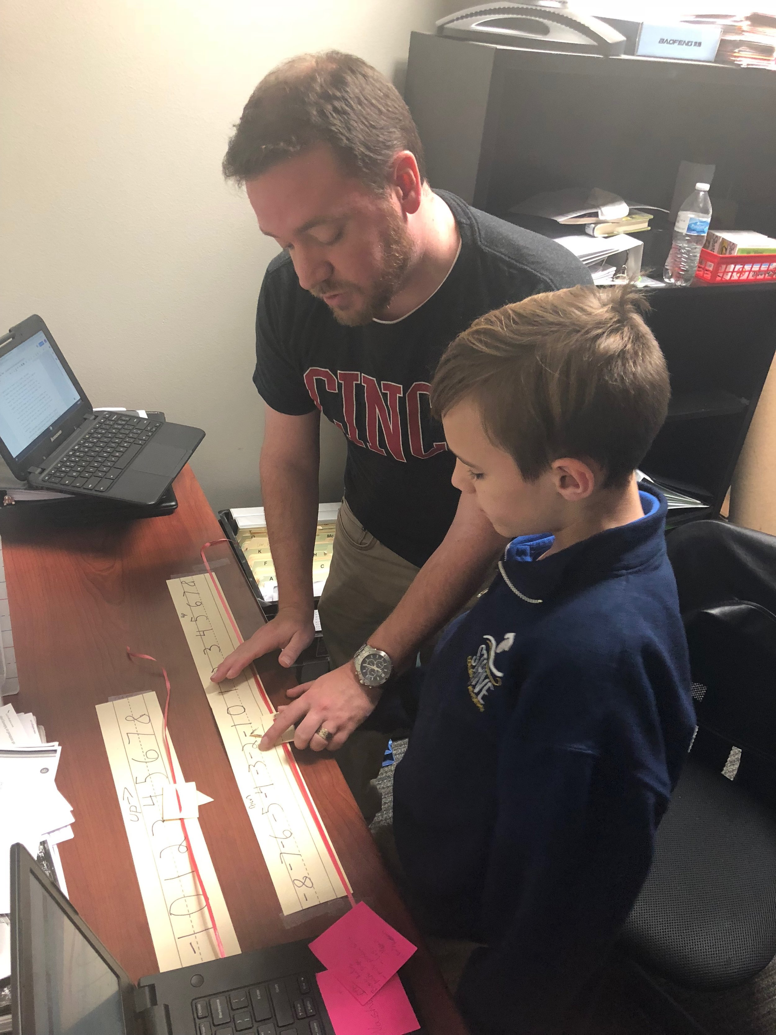 Travis Powell, fifth- and sixth-grade special education teacher at STRIVE Collegiate Academy