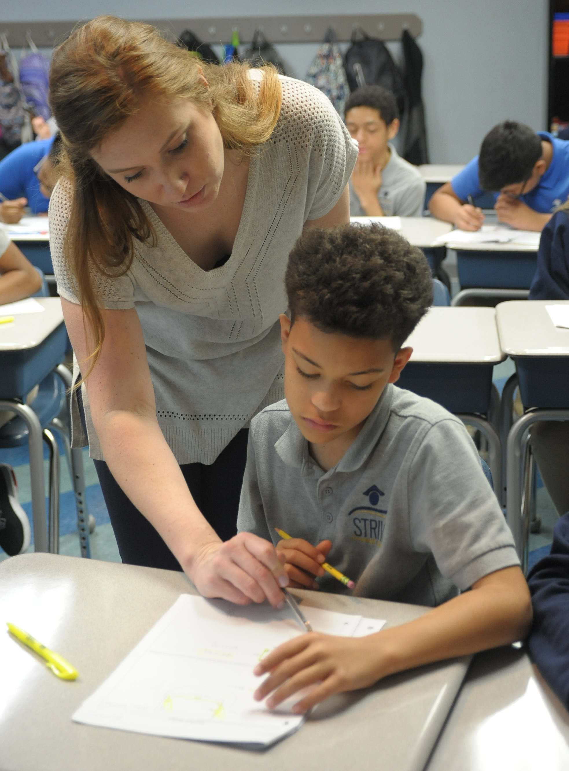 Emily Martin, sixth-grade math and sixth-grade chair at STRIVE Collegiate Academy