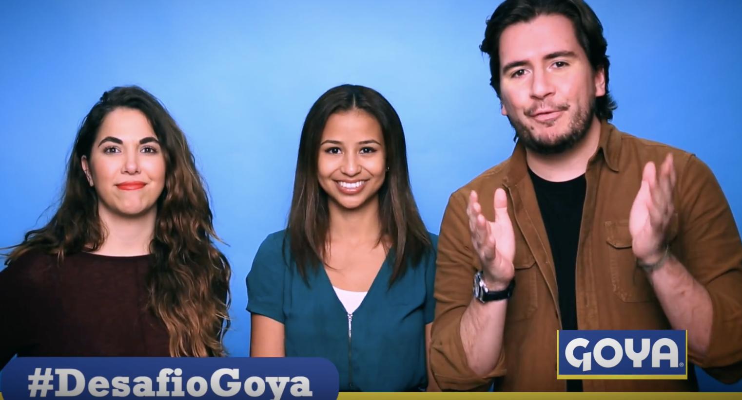 Univision Digita l- Desafio Goya Interview With Santi and Laurita from Miami's 107.5