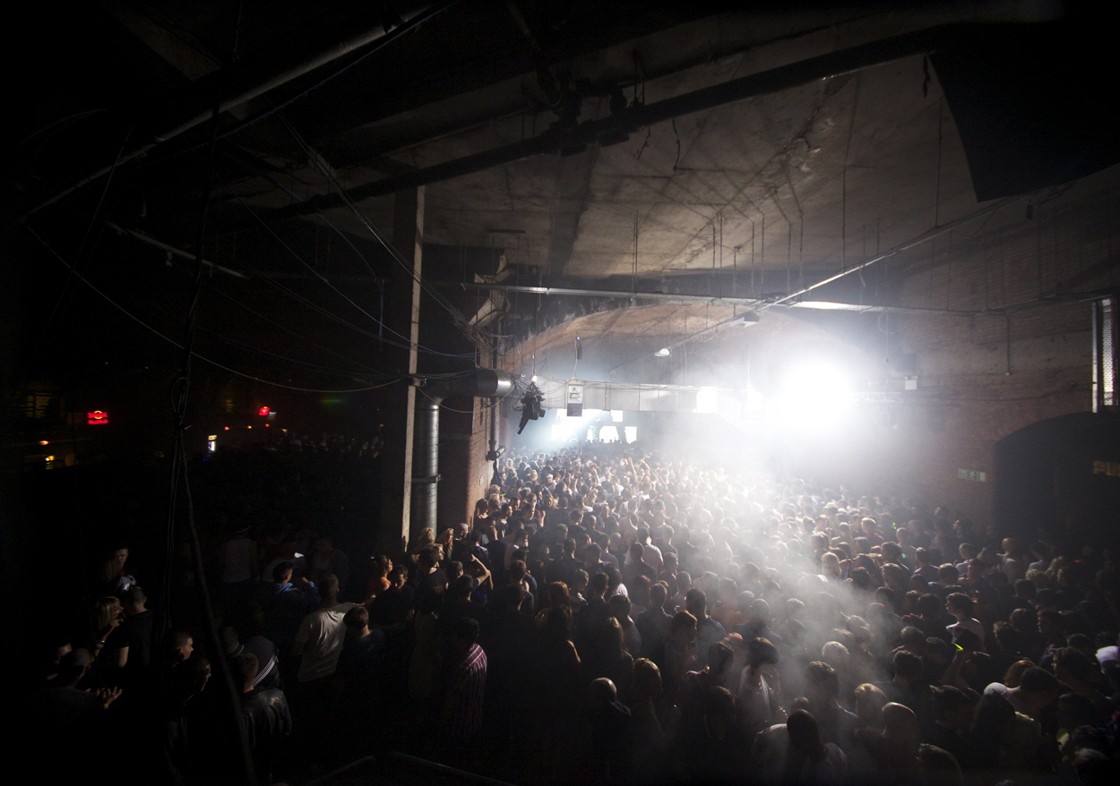 Moisture rising. Warehouse Project. Manchester
