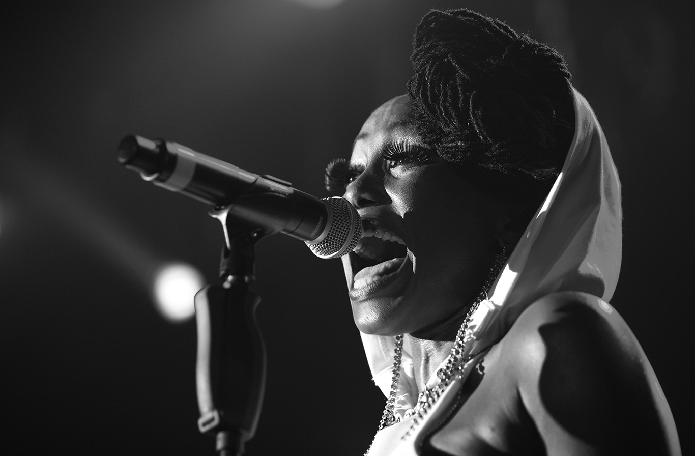 Folami of Chic featuring Nile Rodgers performs. Warehouse Project. Manchester