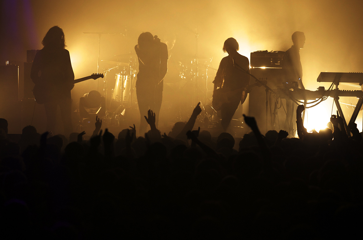 The Horrors perform live. Warehouse Project, Manchester