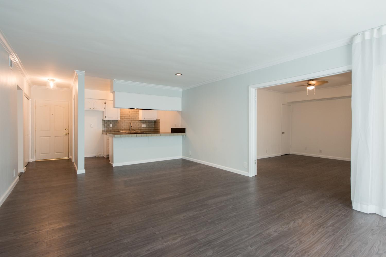 Kitchen, Living Room, Guest Bedroom - After