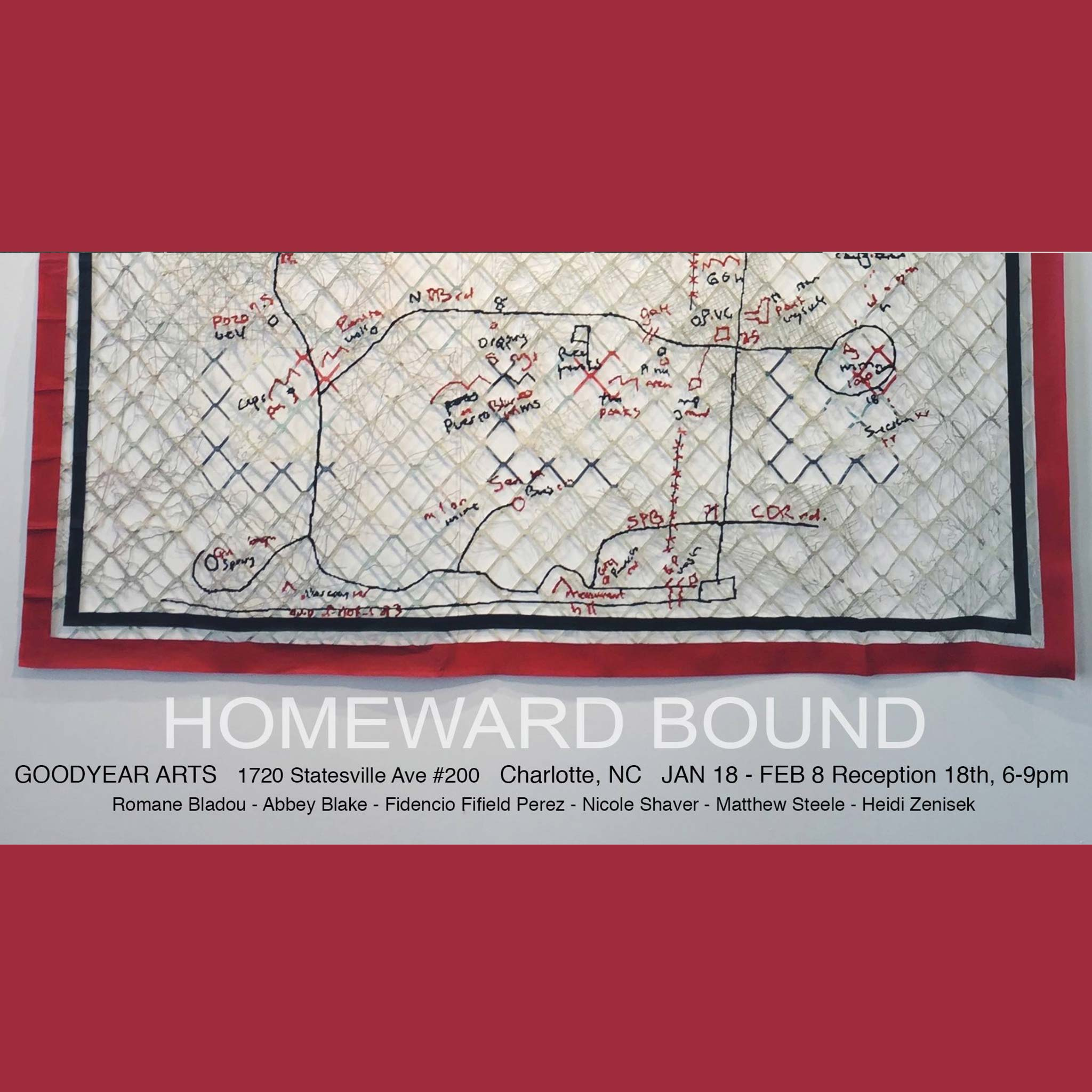 Homeward Bound - JAN 18 - FEB 8Opening Jan 18 // 6-9 PM