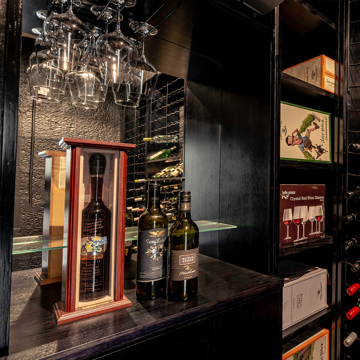 Your tailor-made cellar - Every wine collection is different, so why not design a cellar to your needs? Our designers will work with you to realise the perfect wine cellar, whether you prefer wall-to-wall racks or room for a tasting table. The choice is yours.