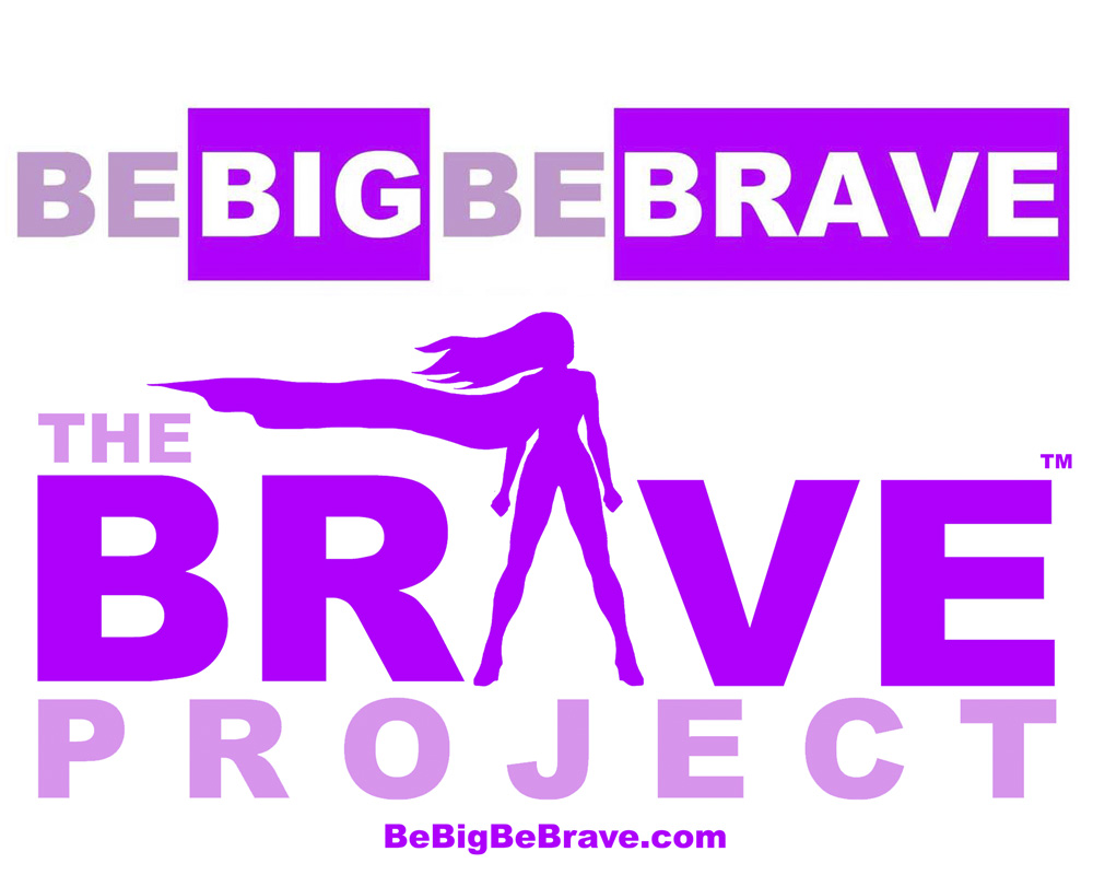 Be Big Be Brave - Be Big Be Brave founded by Laura Bagnarol, a mom and social worker who wanted more for her own daughter. From day 1 we have been involved in this firm from the initial idea to the success it has become today. The logo to the left is a mash of 2 logos, the top Be Big Be Brave is the Company name and Brave Project and logo is a program within the company.