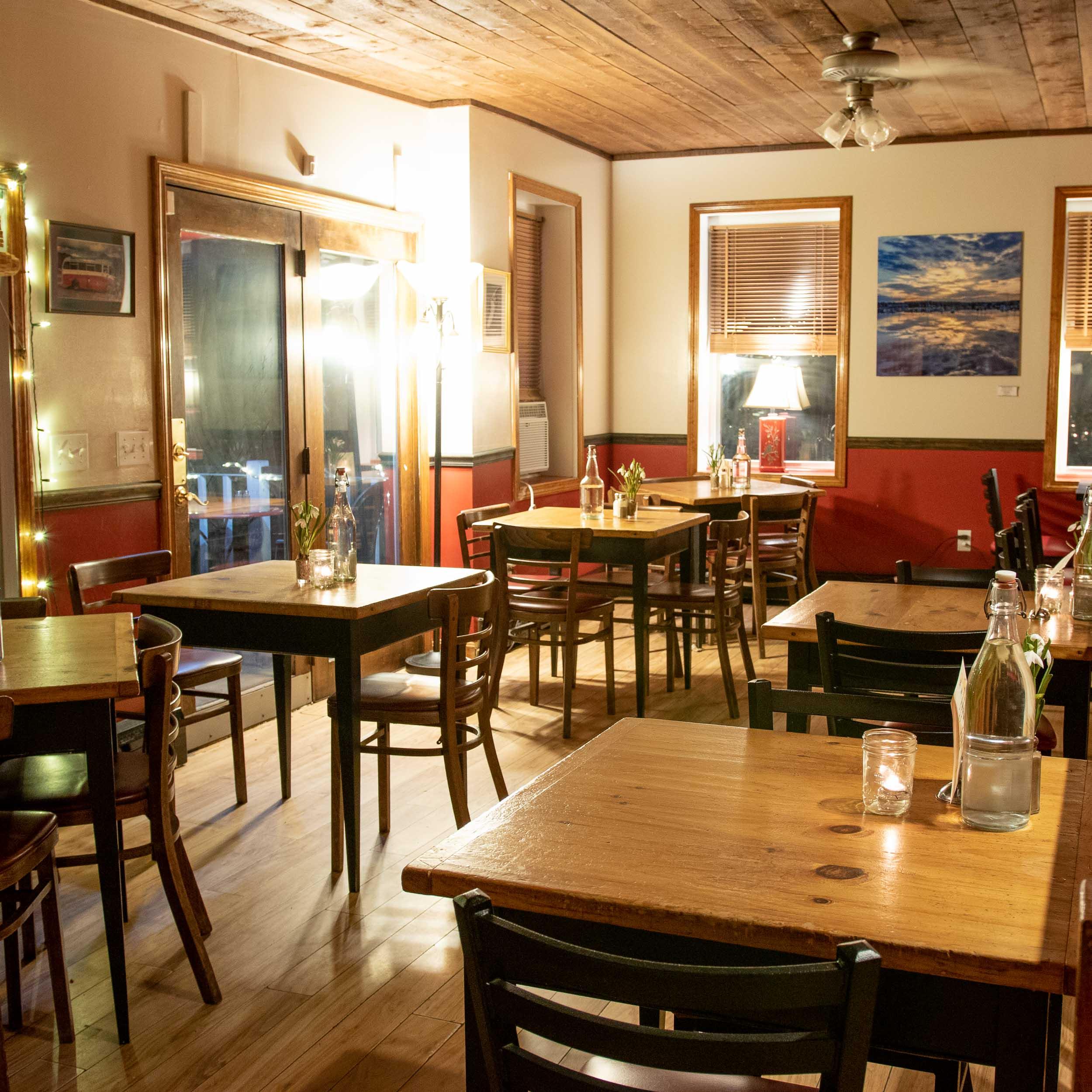 Bristol restaurant dining room