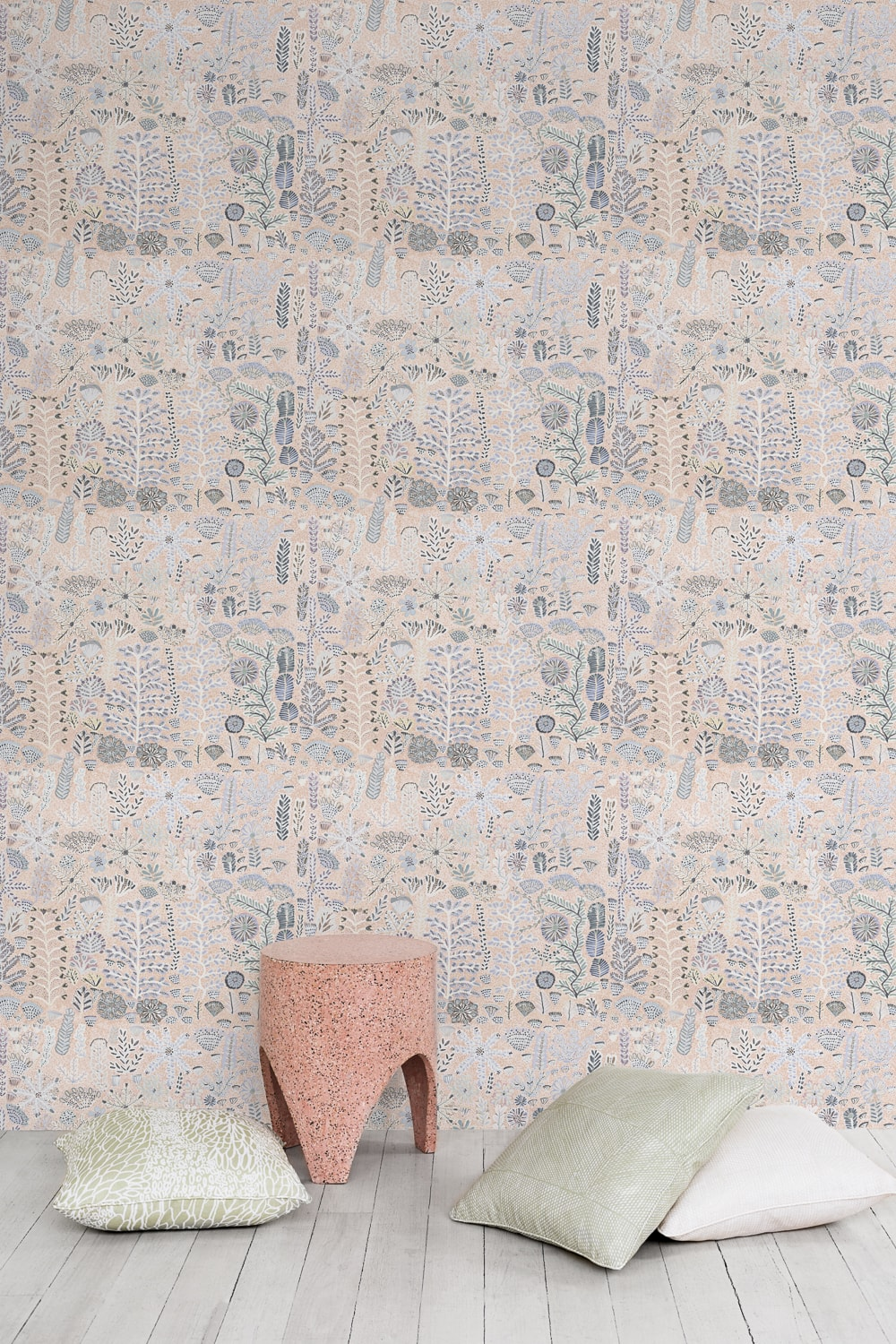 Sugarbag Dreaming 'Desert Rose' wallpaper