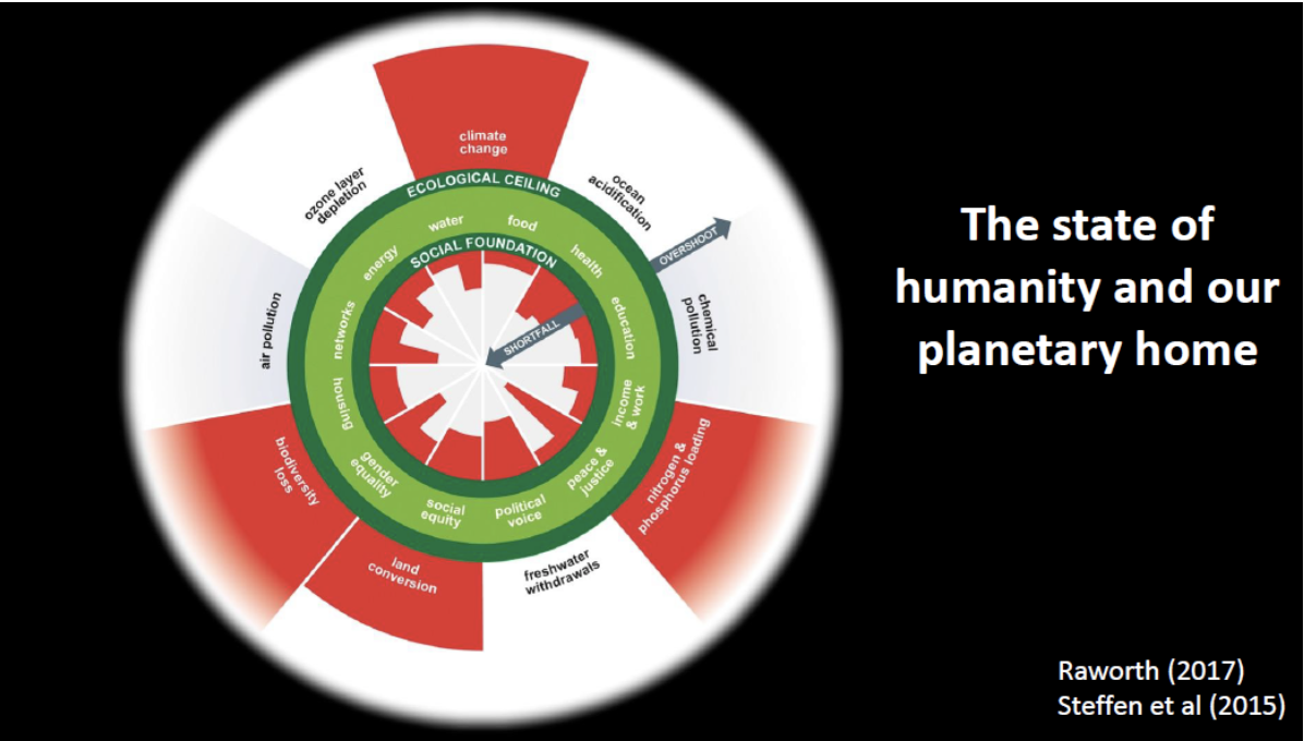 Doughnut Economics - the state of humanity diagram.png