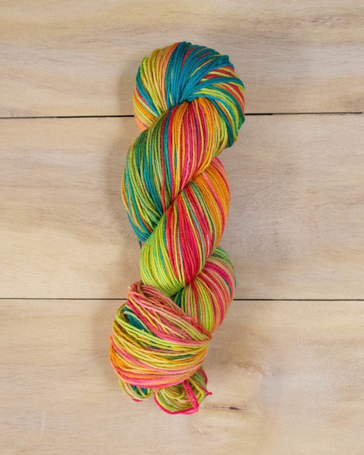 zinnia bearfoot yarn
