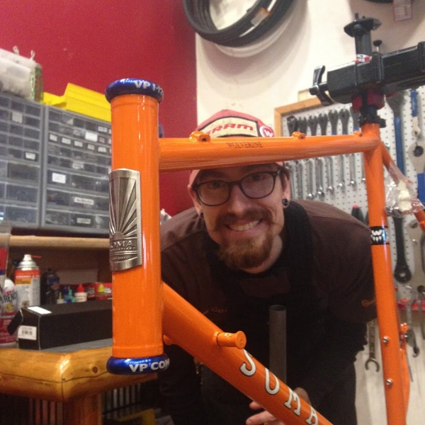 tristan klein; mechanic - Tristan has over sixteen years of bike mechanic experience in several shops in Door County and Milwaukee.He specializes in mountain bike, off-road bikes, touring, custom builds and general bike work.Contact Tristan directly attristangklein@gmail.com