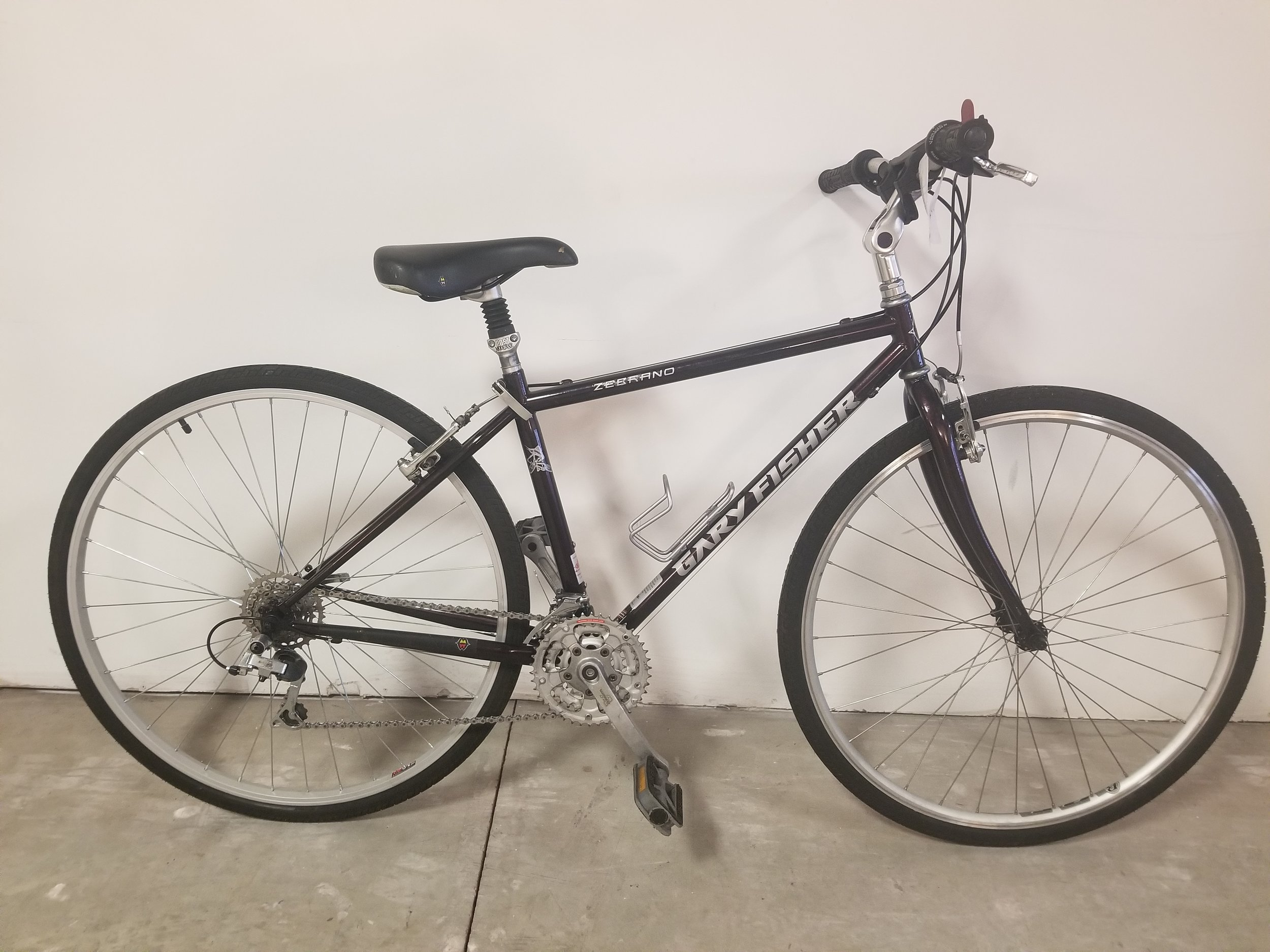 """Gary Fisher Zebrano 15"""" - Used Hybrid Bike.New chain and freewheel. Full Tune-Up and new cables/housing.700c wheels and 38 drivetrain. 15"""". Good for someone around 5.6""""$200"""