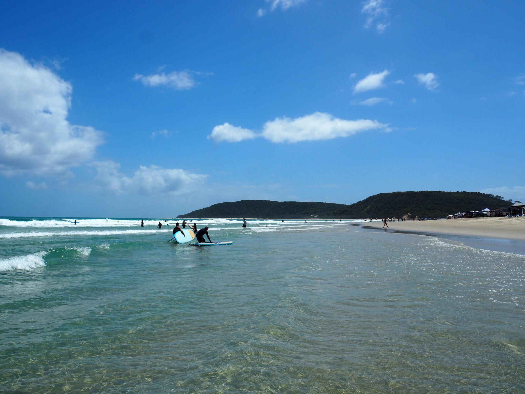 Location: Double Island Point, Queensland AUSTRALIA
