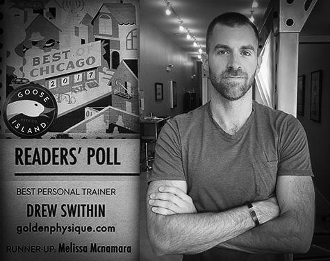 Voted Best Personal Trainer 2017 Chicago Reader