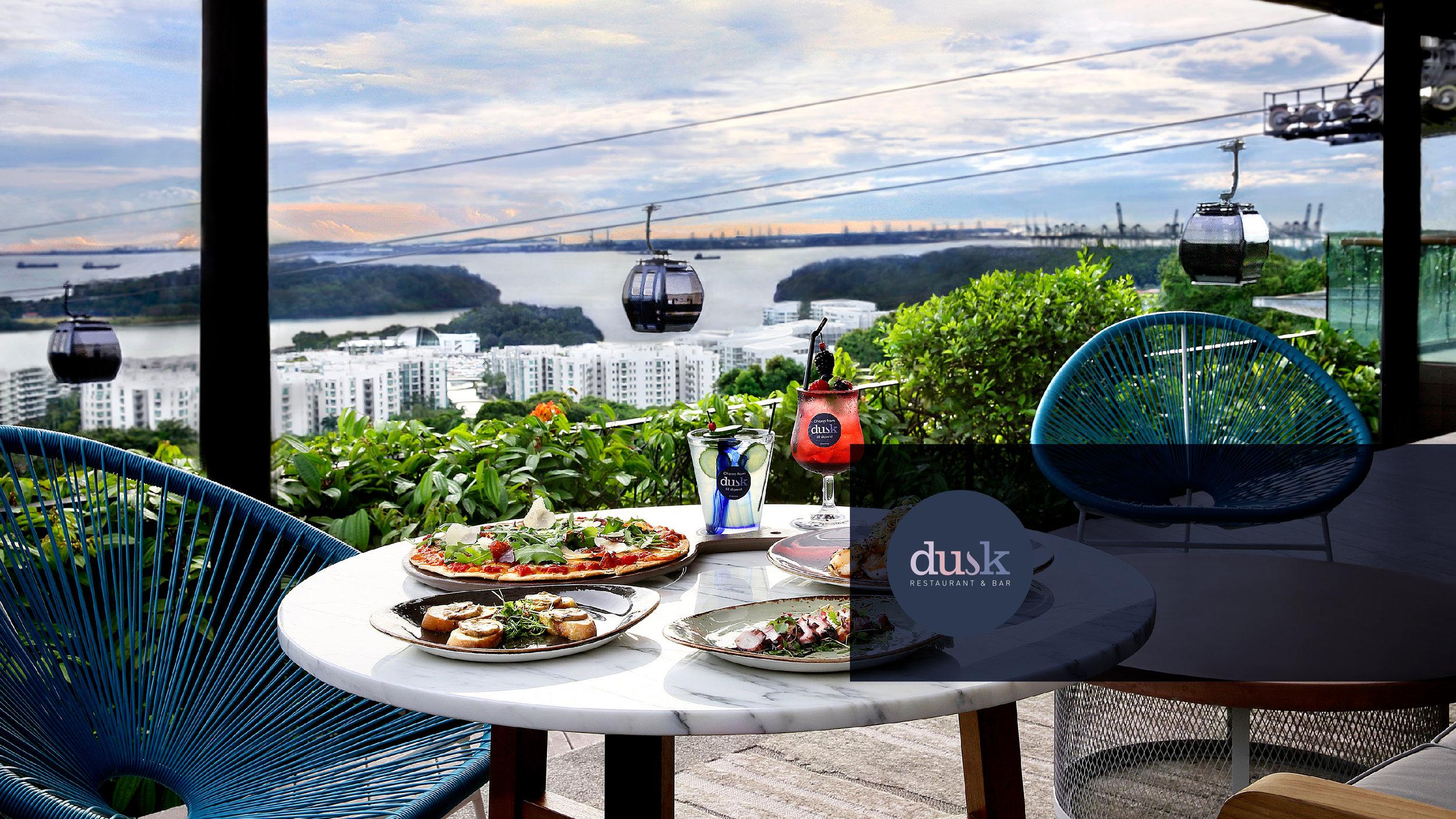 Dusk Restaurant Bar One Faber Group Singapore
