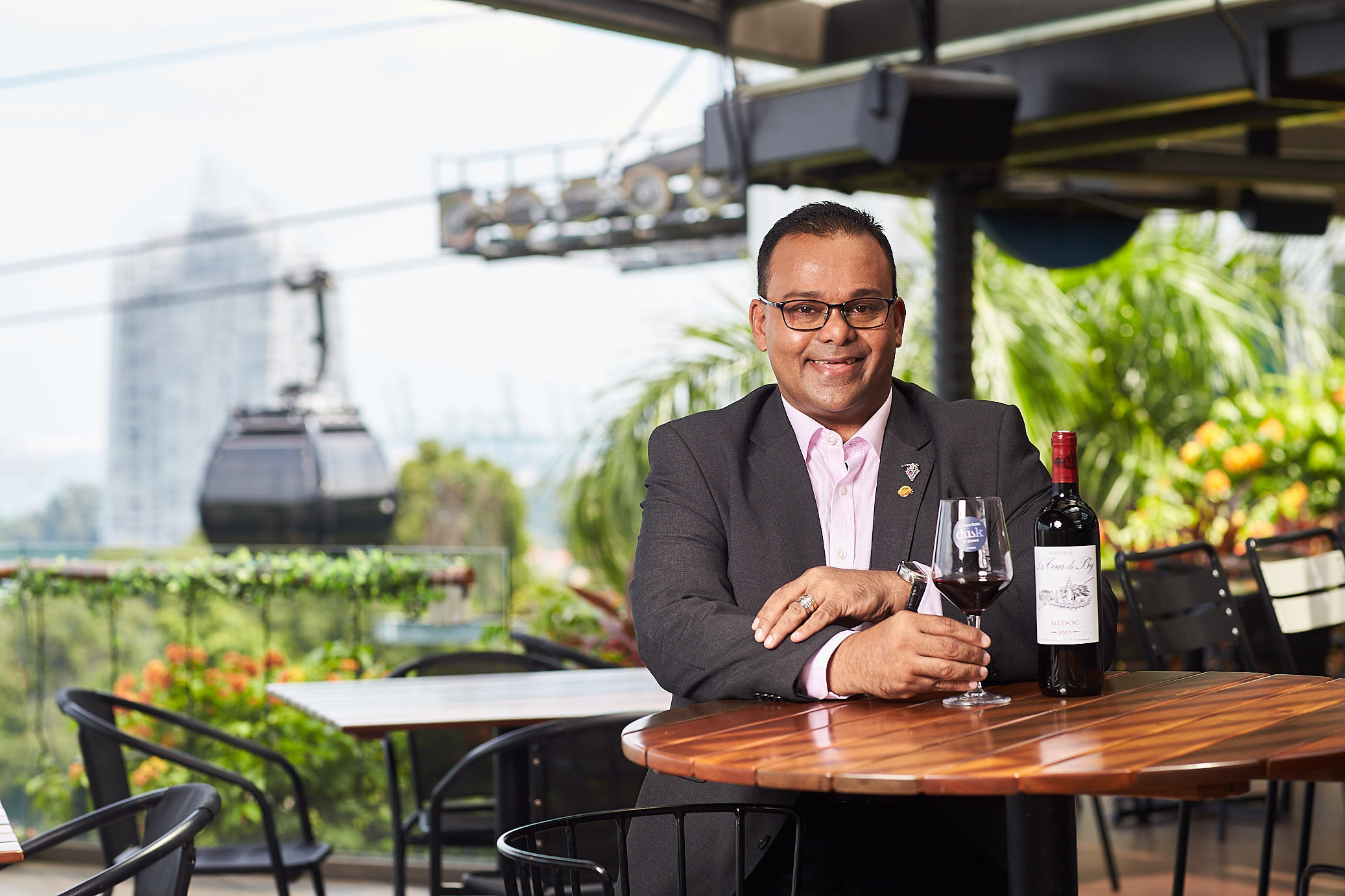 Mohamed Yazid - Recently awarded runner-up for Food & Beverage Manager of the Year at World Gourmet Summit 2019, Mohamed is an accomplished wine expert as evidenced with his nine prestigious local and international accolades.