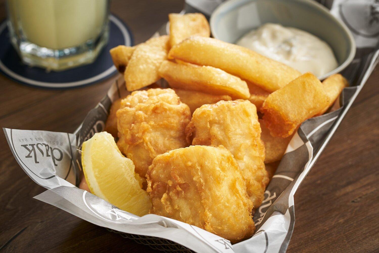 Fish Bites & Truffle Fries