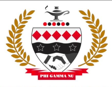 Phi Gamma Nu    (Delta Omicron Chapter)   http://www.pgndeltaomicron.com