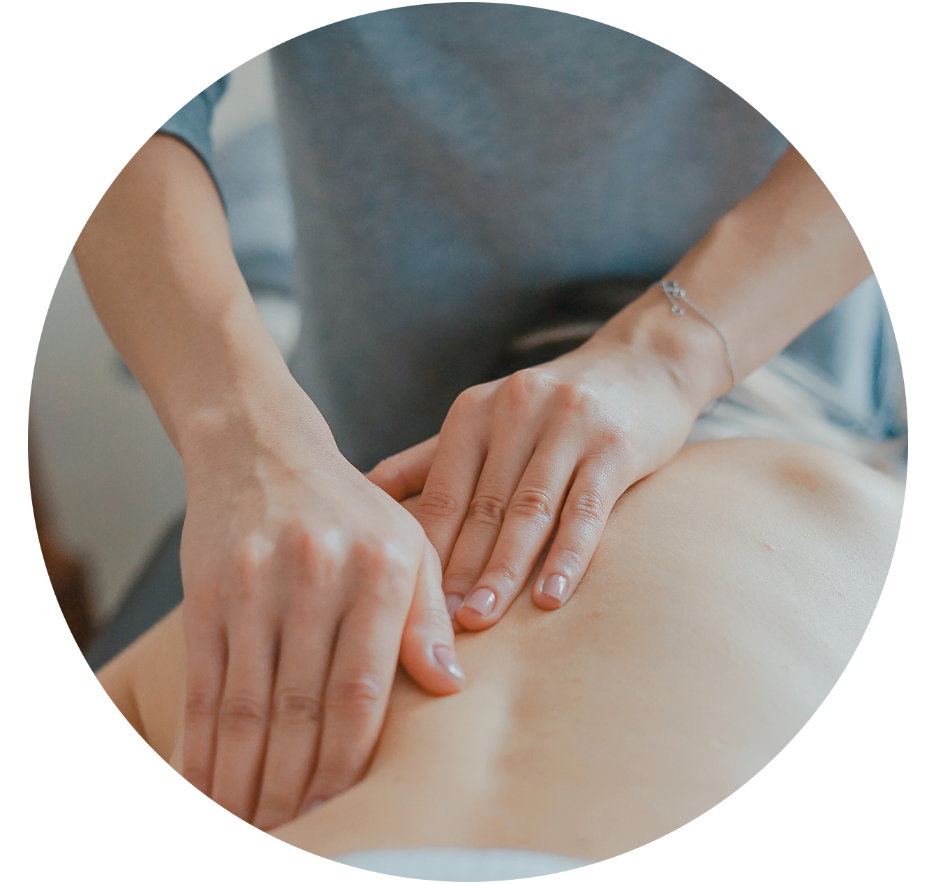 Osteopathy - Using manual therapy techniques our osteopaths will address areas of pain or injury by re-balancing the biomechanics of your posture.