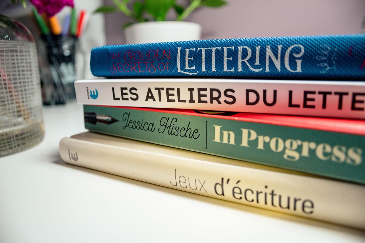 Top 3 Des Meilleurs Livres De Lettering Alexiane Davenport