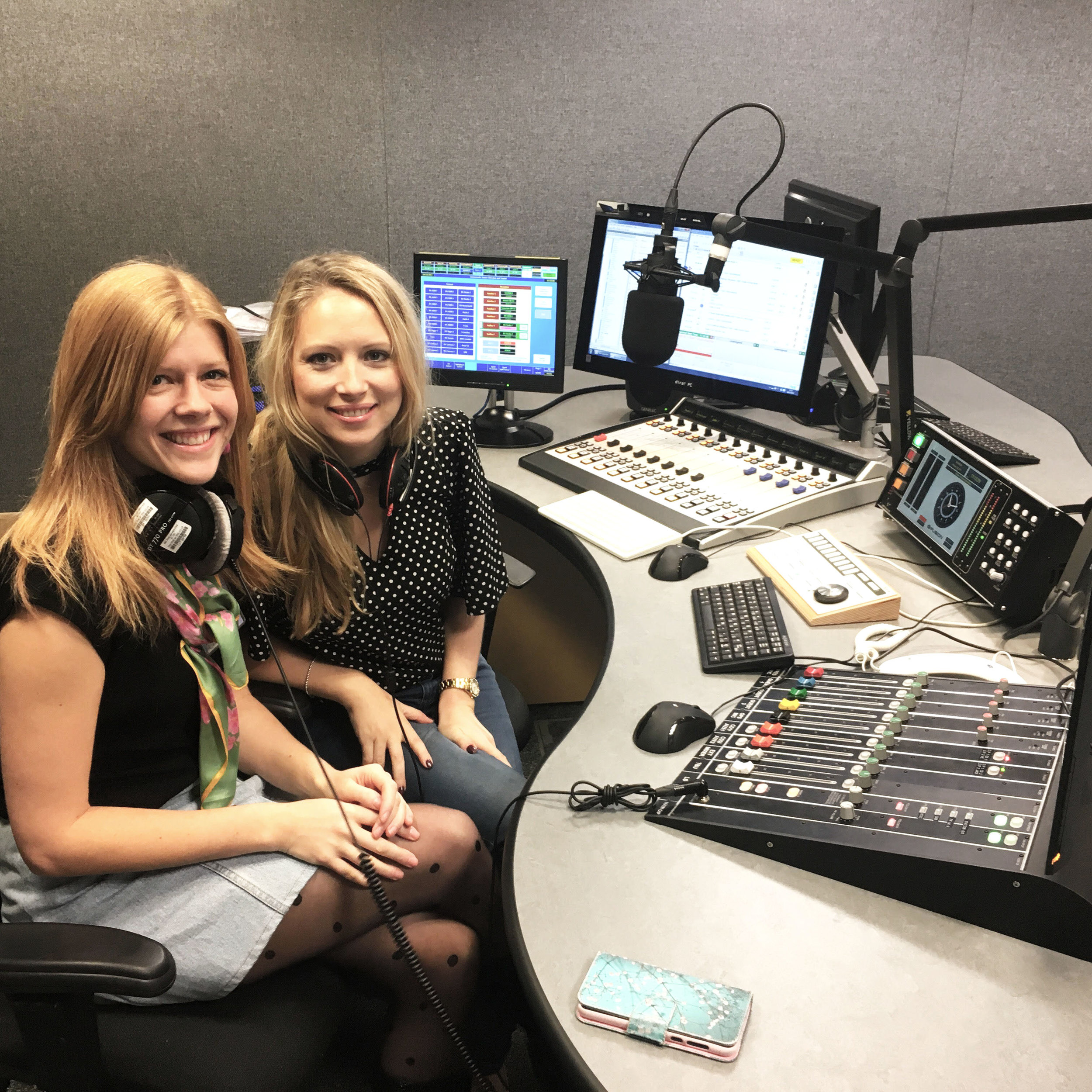 "BBC Radio Bristol - On Dr Phil's Show Pippa and I discussed our Meditation Class ""My Hour""."