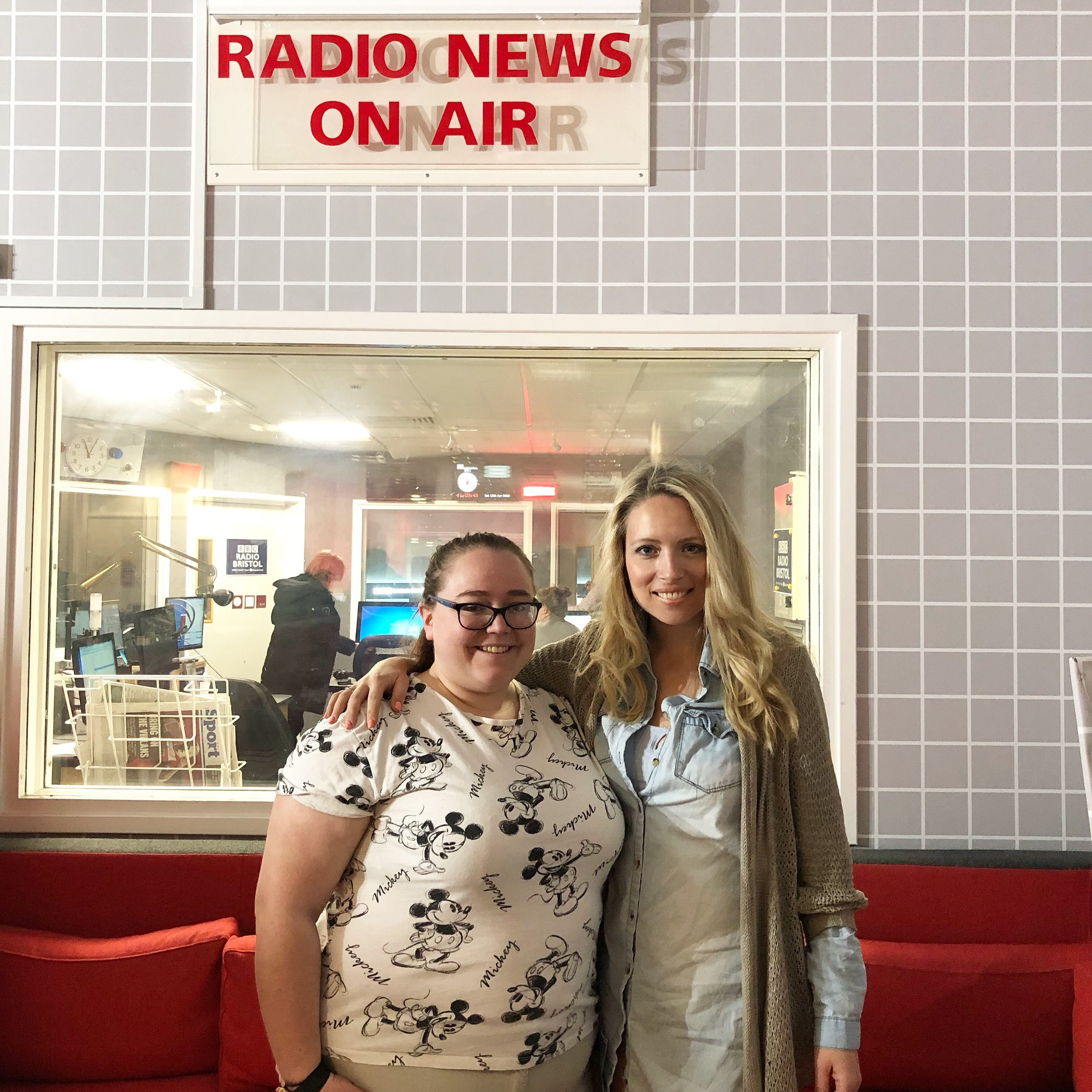 BBC Radio Bristol - I guested on Johnathan Ray's show Happiness Hour, with Sophie, a professional laughter therapist.April 2019