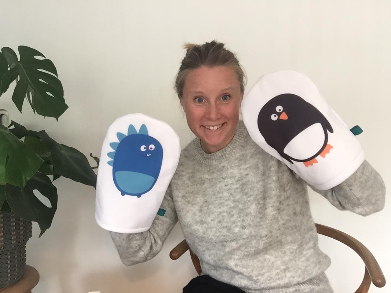 Morty Monster og Pinto Pingvin præsenteret af Anne Kirstine Ellegaard