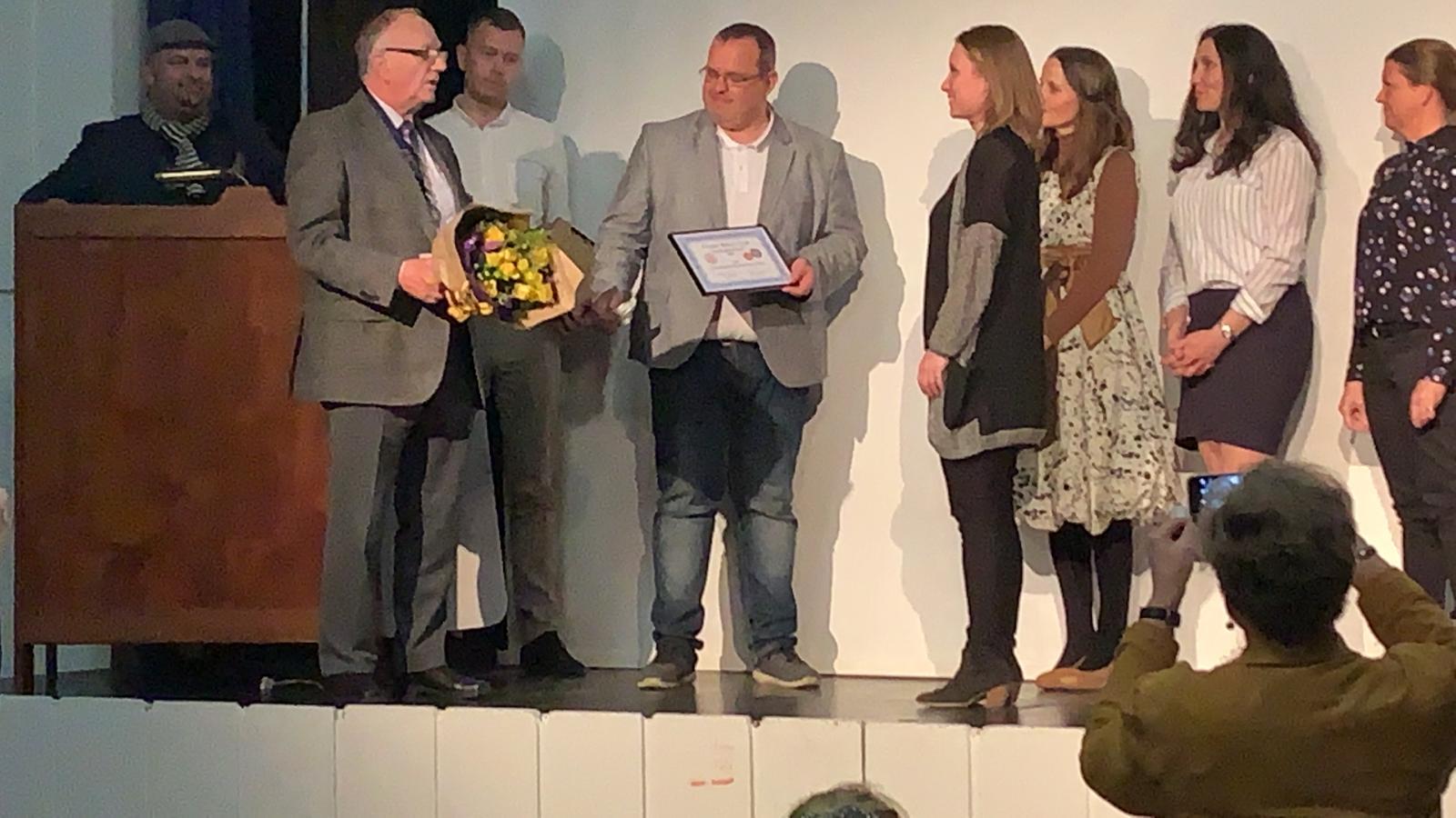 Overrækkelse af Dragør Iværksætterpris 2019