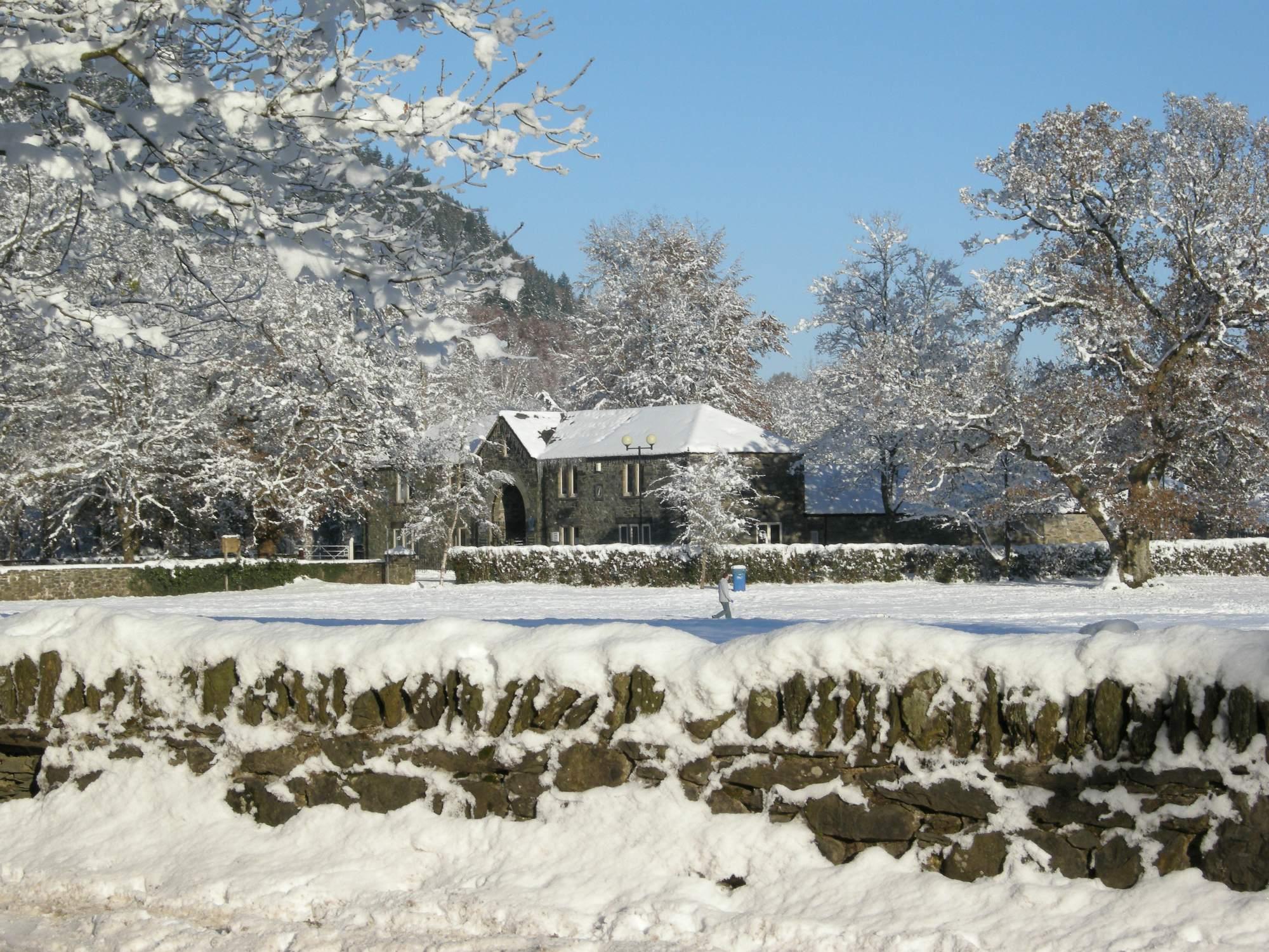 Cae Llan in Winter