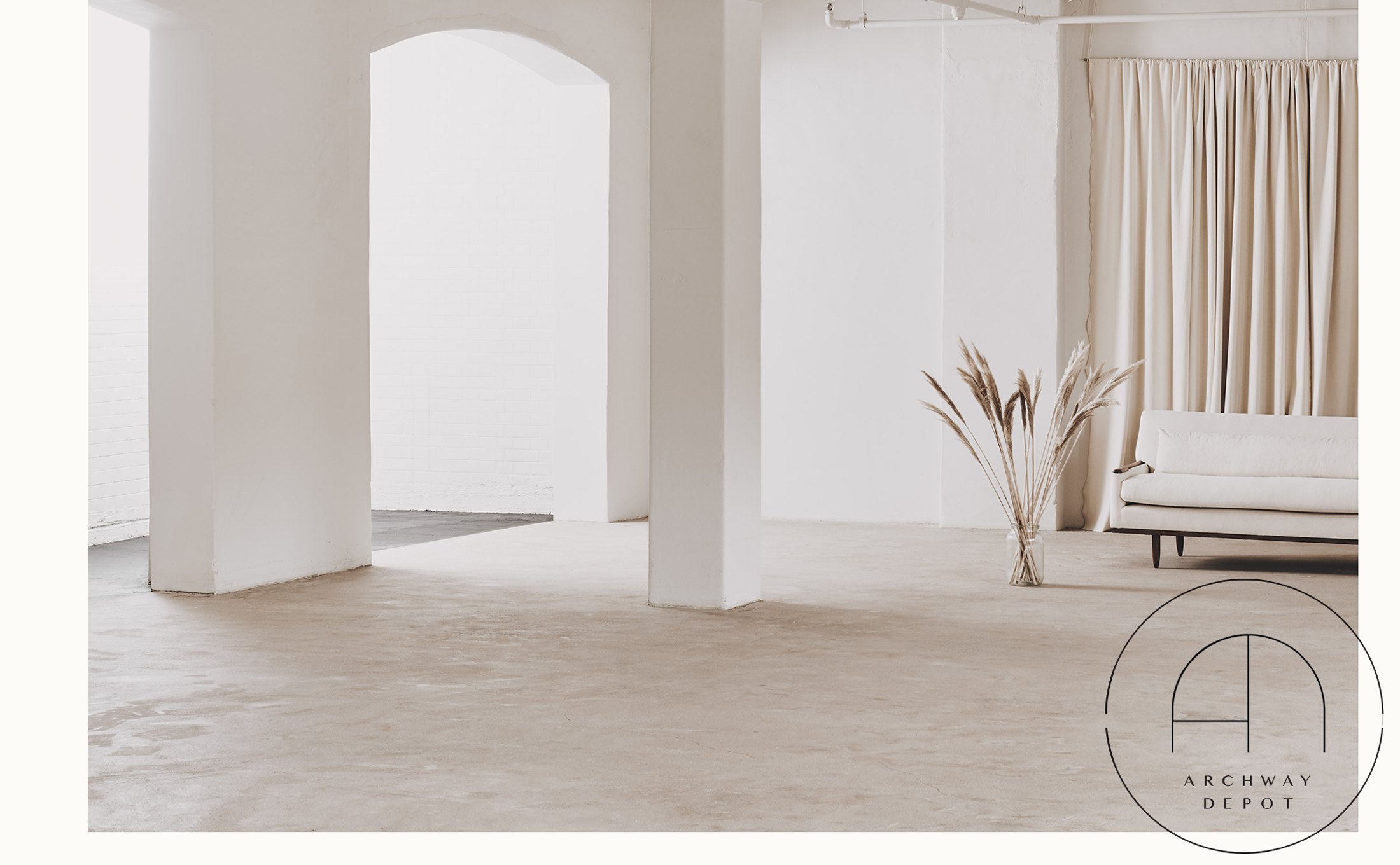 Positive Space. - two brand-new studios with great light and scale, in the heart of london.