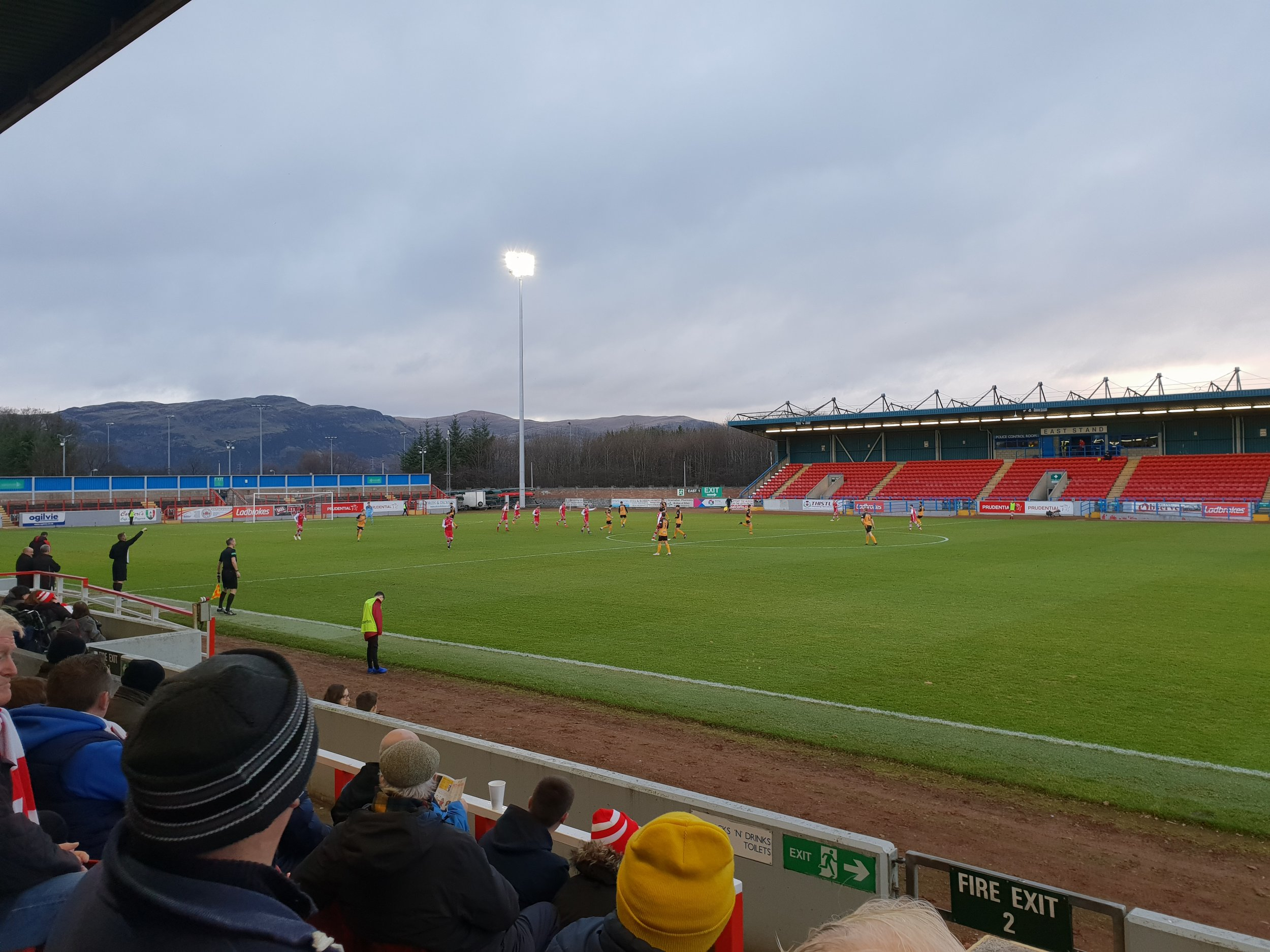 Forthbank 12th January - Stirling Albion v Annan Athletic