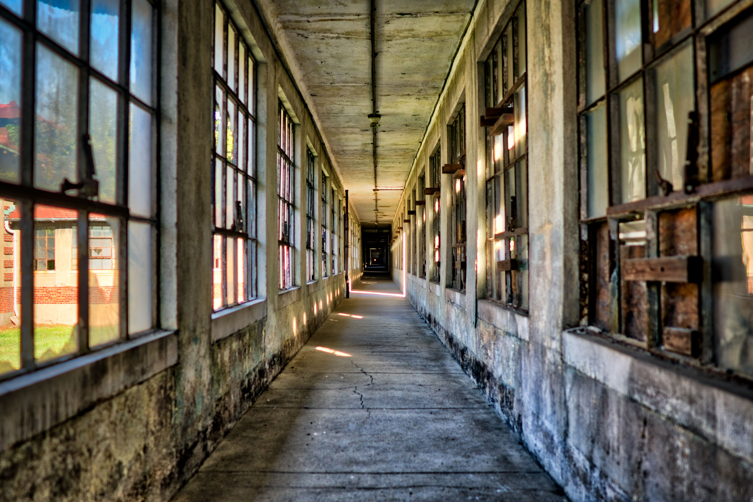 Receding Hallway