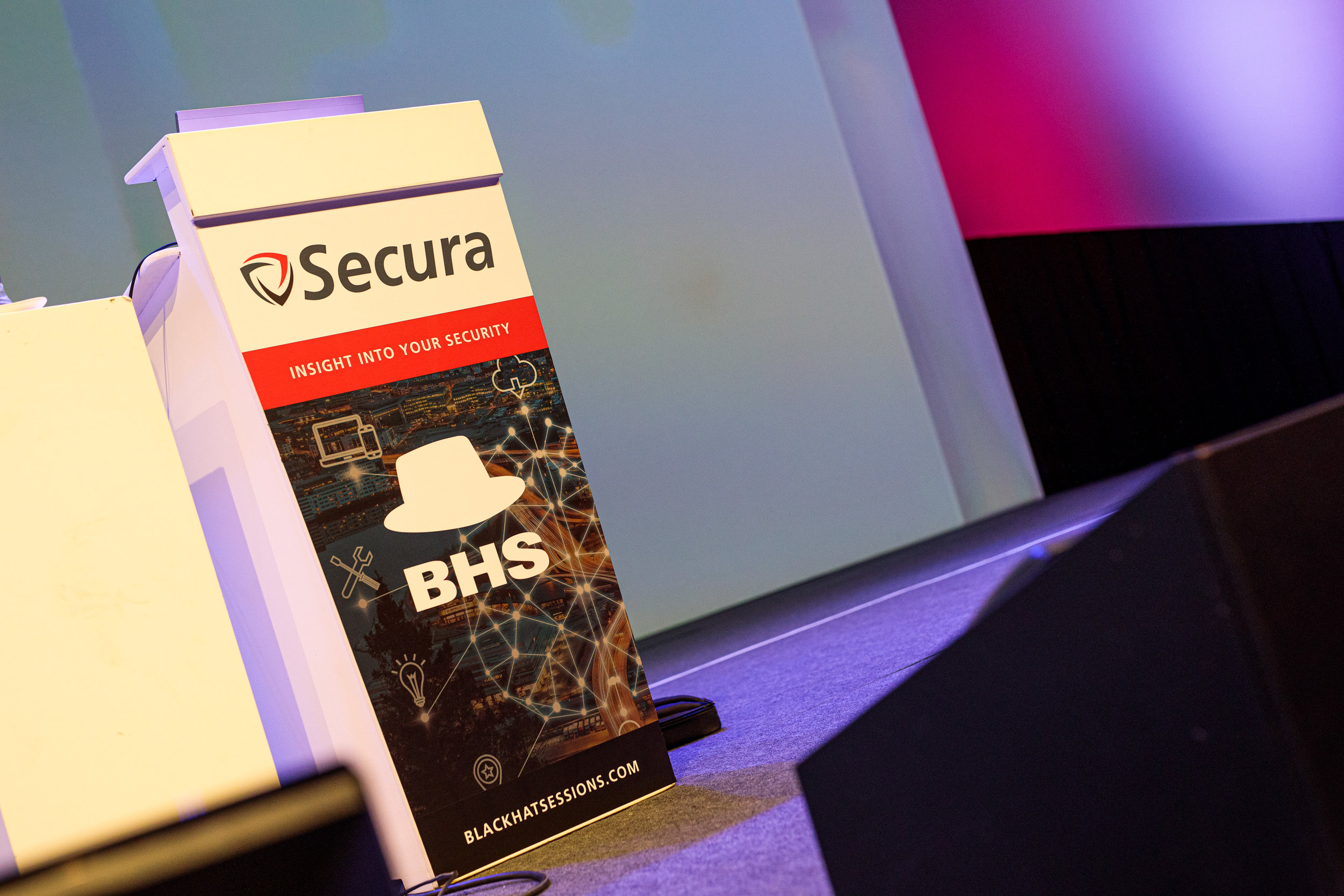 ORGANISER - The Black Hat Sessions is Secura's annual security conference. Launched sixteen years ago as an afternoon to share knowledge, it has grown into a renowned event in the world of IT security.