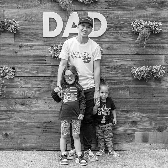 #FathersInFashion Daddy Day portraits, part two ☀️ (@davidcoephoto)
